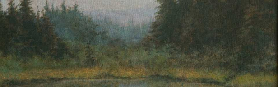 """Shrewsbury Pond"" Detail"