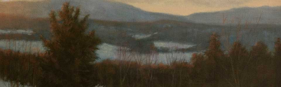 """Winter Morning"" Detail"